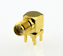 Female Right Angle SMA Connector