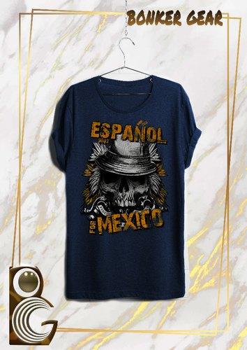 Espanol Mexico Printed T-Shirt Wholesale Trader from Delhi