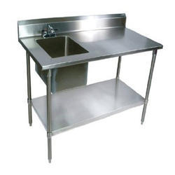 SS Sink With Work Table. Get Best Quote