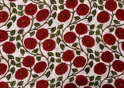 100% Hand Block Printed Cotton Fabric