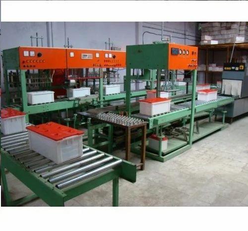Custom Conveyors Battery Assembly Line Conveyor
