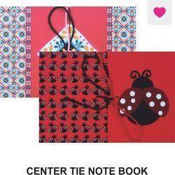 Center Tie Note Book