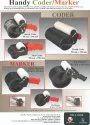 Cartoon/Hdpe Woven Sacks Bag Coding Coder -Mini Handy Marker / Coder 50 mm x 300 mm