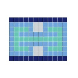 Glass Border Mosaic Tile