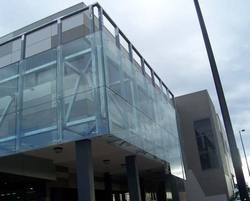 12 Mm Toughened Glass Spider Fitting Work