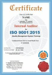 Internal Auditor Course Certification Service