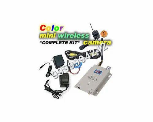 Spy Audio Video Wireless Camera