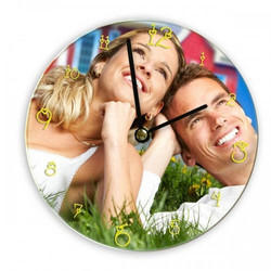 Sublimation Glass Clock