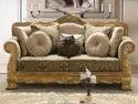 Luxurious Wooden Sofa Set
