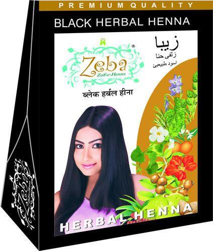 Black Herbal Henna Powder