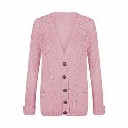 Ladies Designer Woollen Cardigans