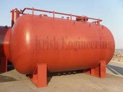 Mild Steel Liquid Storage Pressure Tank