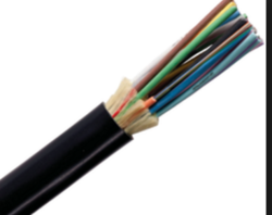 Unarmoured Fiber Optic Cable, 6 Core, SM, Multitube