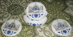 Decorative Marble Taj Mahal Coasters