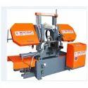 Semi Automatic Metal Cutting Band Saw Machine
