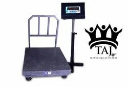 Heavy Digital Weighing Scale 1000Kg Platter Size:900-900mm