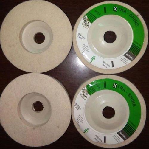 Wool Felt Abrasive Disc