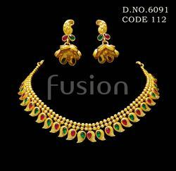 Traditional Maharashtrian Necklace Set
