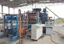 Semi Automatic Concrete Brick and Block Making Machine