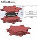 Pot PTFE Guided Bridge Bearing