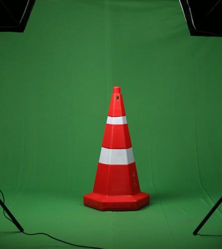 Hexagonal Traffic Cone 750mm