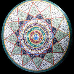 Stone Mosaic Table Top