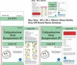 Caz FX 30 ml Dry Syrup