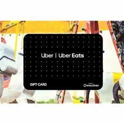 Uber & Uber Eats - E-Gift Card - E-Gift Voucher