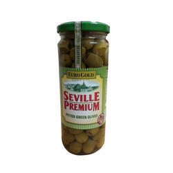 Green Pitted Olives 450gm