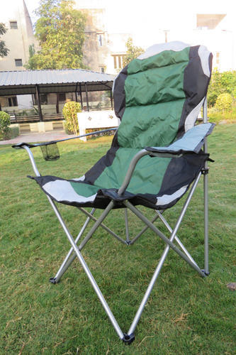 Folding Camping Chair with Carry Bag-Green