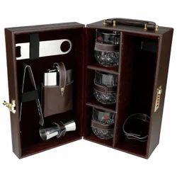 Brown - 03 - Portable Bar Accessories Set