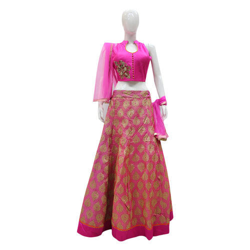 662dccde45ca1 Crop Top Lehengas - Designer Crop Top Lehenga Manufacturer from Delhi