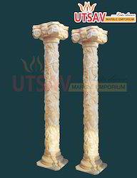 Carving Marble Pillars
