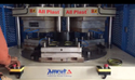 Two Color SWR Ring Rotary Vertical Moulding Machine