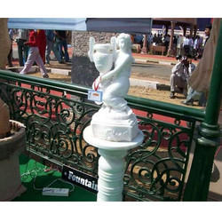 Handicraft Marble Pole