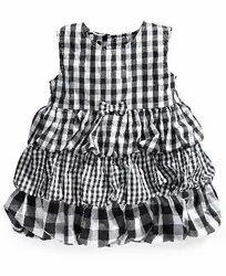 BCI Cotton Kids Checked Frocks