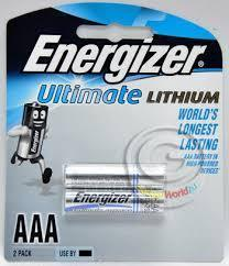 Energizer AAA Lithium Batteries