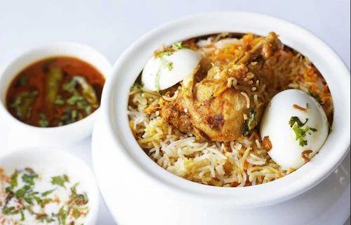 Indian Non Vegetarian Rice Biryani Special Chicken Biryani