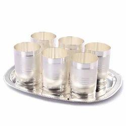 German Silver Glass Set  sc 1 st  Bharat Handicrafts & German Silver Utensil - German Silver Cup Plate Manufacturer from Jaipur
