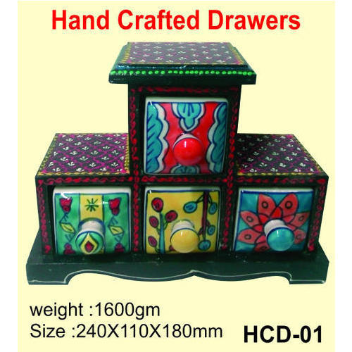 Indian Handicrafts Hand Crafted Drawers Manufacturer From Delhi