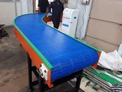 90 Degree Modular Belt Conveyor