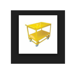 Double Layer Platform Trolley