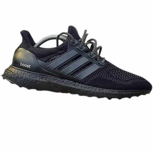 Black Leather Mens Adidas Ultra Boost