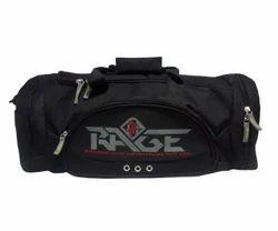 Rage Black Gym Bag