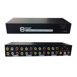 Audio Video Splitter 1 Input And 8 Output Active
