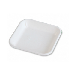5.5 Inch Square Biodegredable Plate