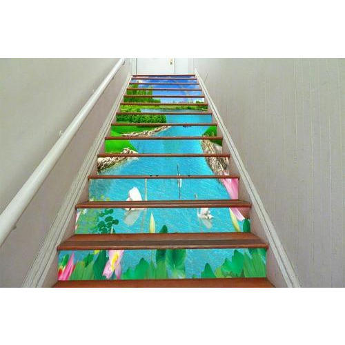 Printed Stairs Covering