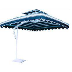 Garden Side Pole Square Umbrella