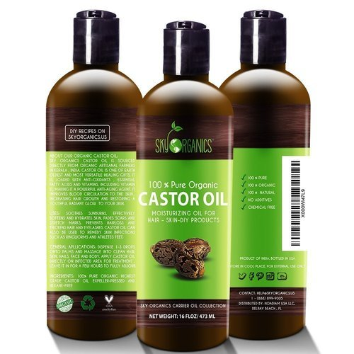 Organic Castor Oil at Best Price in India