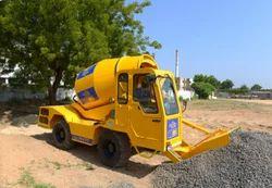 Loading Mobile Concrete Batching Plant